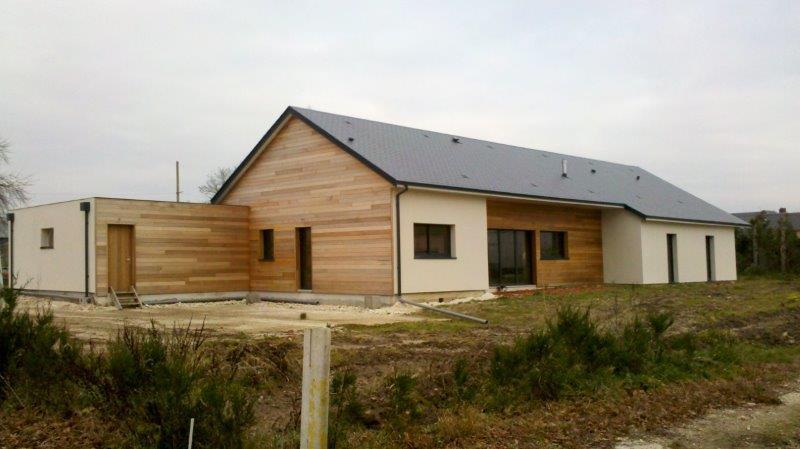 Maison bois extension amiens beauvais mbe agrandissement for Agrandissement maison ossature bois