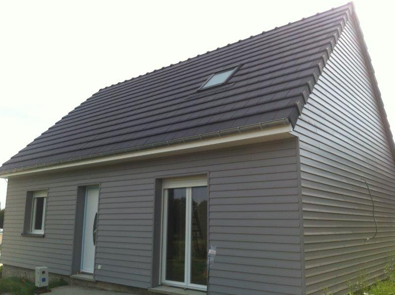 Bardage pvc maison good bardage pvc maison with bardage for Bardage maison composite