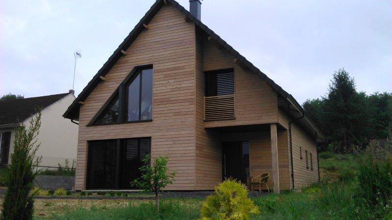 Maison bardage composite amazing essence bardage bois for Prix permis de construire architecte