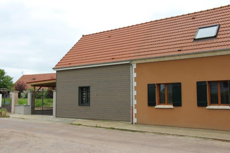 Extension maison en l elegant maison de la ville bagot - Extension maison design ...