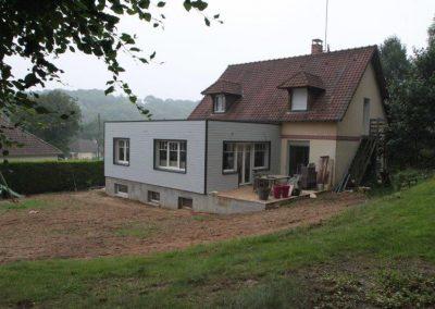 50 m² avec sous sol complet , toiture terrasse isolée EPDM